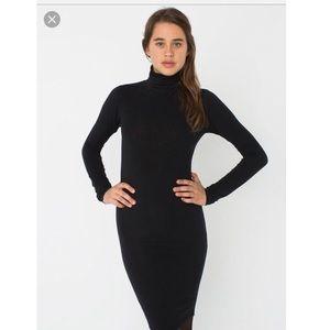 American Apparel turtleneck midi dress size XS